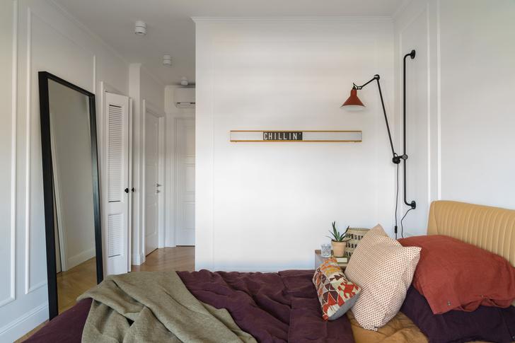 Современная квартира 75 м² для молодой девушки (фото 9)