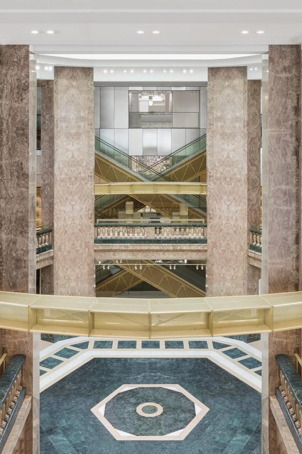 Новый универмаг Galeries Lafayette по проекту Бьярке Игельса (фото 3)