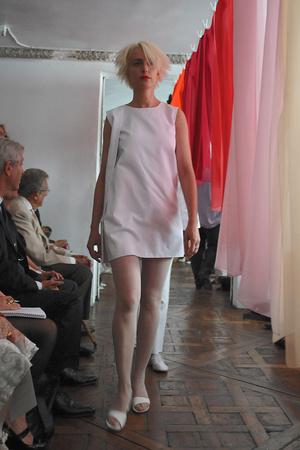 Показ Adeline Andre коллекции сезона Осень-зима 2009-2010 года Haute couture - www.elle.ru - Подиум - фото 87037