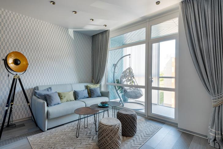 На курорте: маленькая квартира 47 м² в Светлогорске (фото 0)