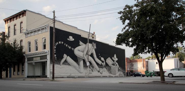 Стрит-арт в Америке: топ-5 городов (фото 3)
