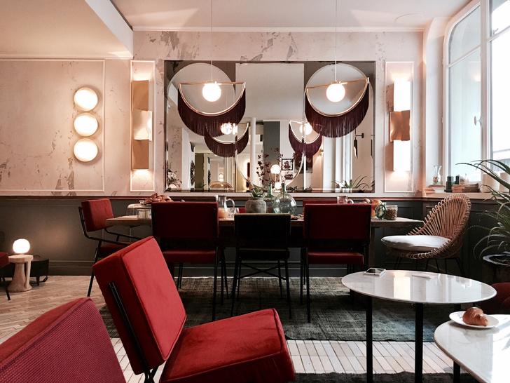 Отель в Париже в стиле ар-деко (фото 1)