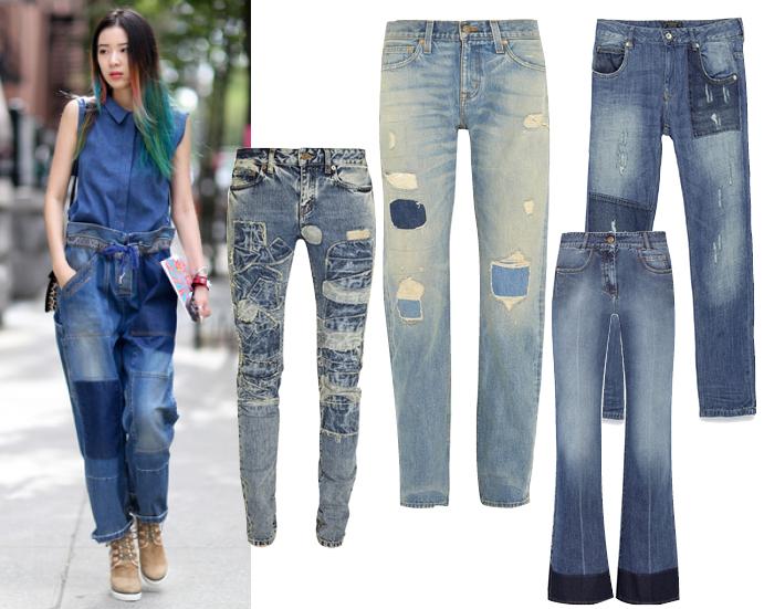 Модные джинсы весна лето 2015 фото