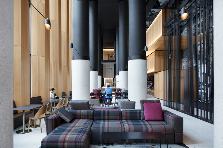 Montreal's Hotel Monville by ACDF Architecture features strict palette (фото 6)