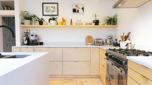 Модные кухни из фанеры: 10 удачных решений (фото 15)