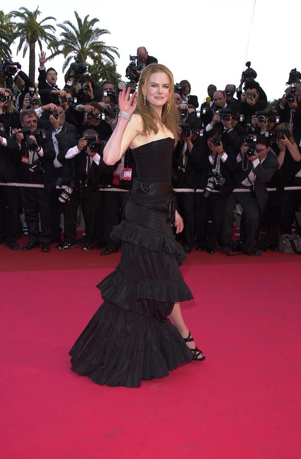 В платье Yves Saint Laurent, 2001 год
