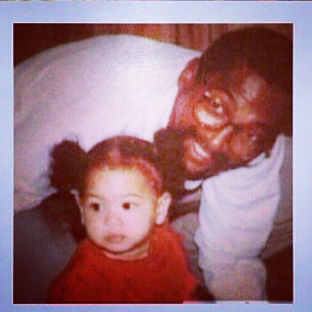 Бейонсе и ее папа: фото 2015