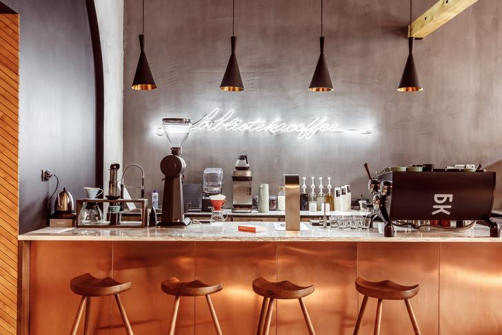 Кофейня в Краснодаре в стиле лофт (фото 5)
