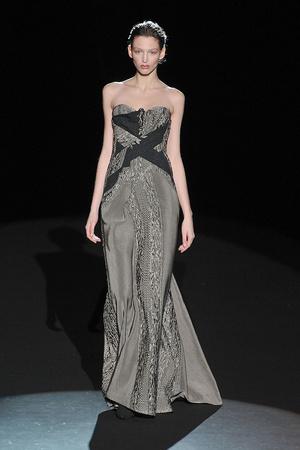 Показы мод Carolina Herrera Осень-зима 2009-2010 | Подиум на ELLE - Подиум - фото 3241
