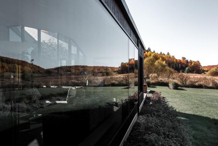 Осенняя соната: дом в поле по проекту Шевалье Моралеса (фото 9)
