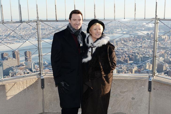 Дебора Ли-Фернесс и Хью Джекман фото