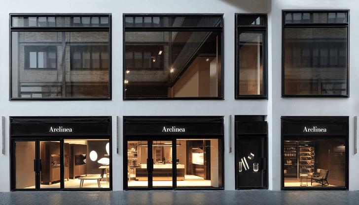Шоу-рум кухонь Arclinea по проекту Антонио Читтерио (фото 7)