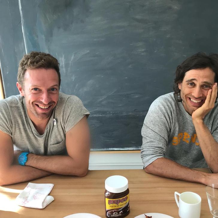 Высокие отношения: бывший муж и бойфренд Гвинет Пэлтроу позавтракали вместе (фото 1)