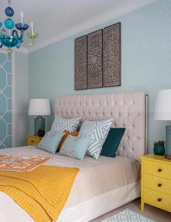 Как оформить спальню: 15 универсальных советов (фото 47)