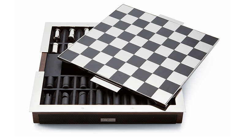Шахматы Bond Chess Set, Ralph Lauren Home, www. ralphlaurenhome. com, салоны Lege Alto, 3680 у.е.
