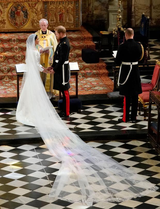 Какой фантастический сюрприз Меган Маркл сделала Гарри в день свадьбы? (фото 3)