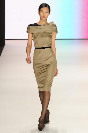 Показ Carolina Herrera коллекции сезона Осень-зима 2011-2012 года Prêt-à-porter - www.elle.ru - Подиум - фото 228850