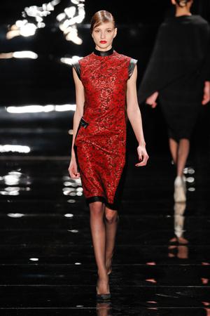 Показы мод Reem Acra Осень-зима 2013-2014 | Подиум на ELLE - Подиум - фото 863
