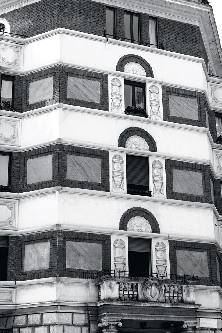 Интерьер в стиле ар-деко в Милане фото [7]