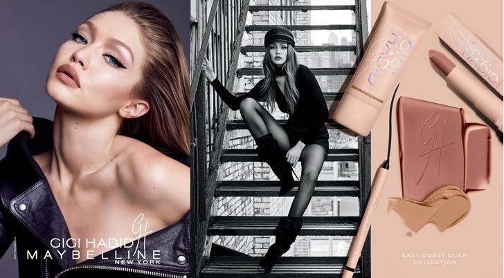 Все, что нужно знать о новой коллекции макияжа Gigi Hadid X Maybelline фото [1]