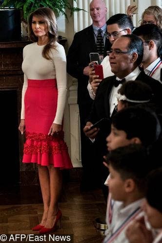 Мелания Трамп на мероприятии в Белом доме фото [1]