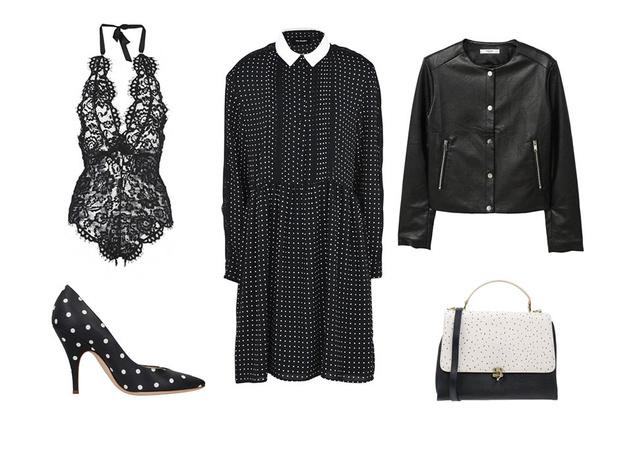 Эффект домино: как носить черные и белые вещи (фото 5)