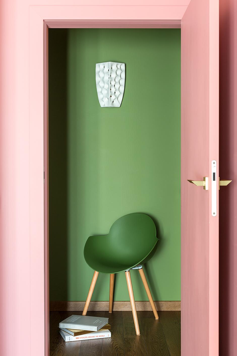 25 интерьеров зеленого цвета (галерея 0, фото 9)