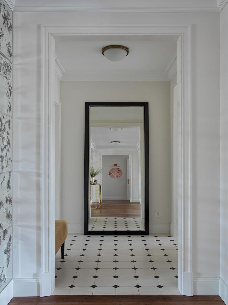 Квартира для семьи с тремя детьми в классическом стиле 140 м² (фото 11)