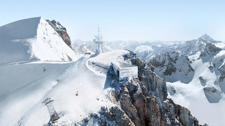 Башня-маяк и горнолыжная станция по проекту Herzog & de Meuron (фото 0)
