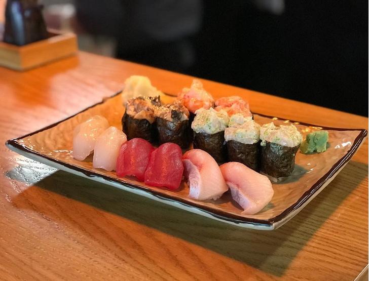 Ryba Sushi & Oysters меню