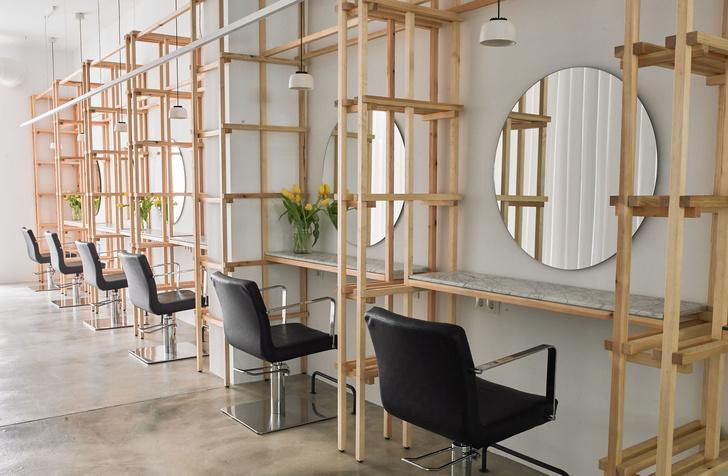 Салон красоты в Мадриде в скандинавском стиле (фото 0)