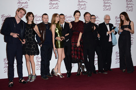 Лауреаты премии British Fashion Awards 2012