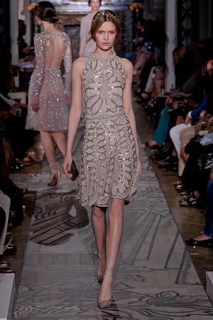 Показ Valentino коллекции сезона Осень-зима 2011-2012 года haute couture - www.elle.ru - Подиум - фото 278541