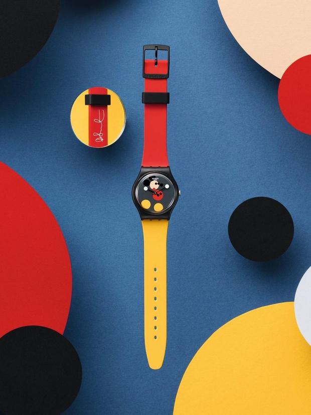 Дэмиен Херст и Swatch выпустили часы в честь юбилея Микки Мауса (фото 0)