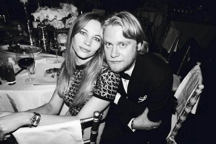 Светлана Устинова и Илья Стюарт