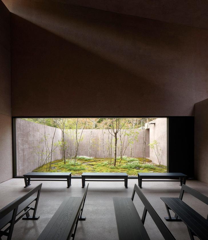 Розовая часовня Дэвида Чипперфилда в Японии (фото 4)