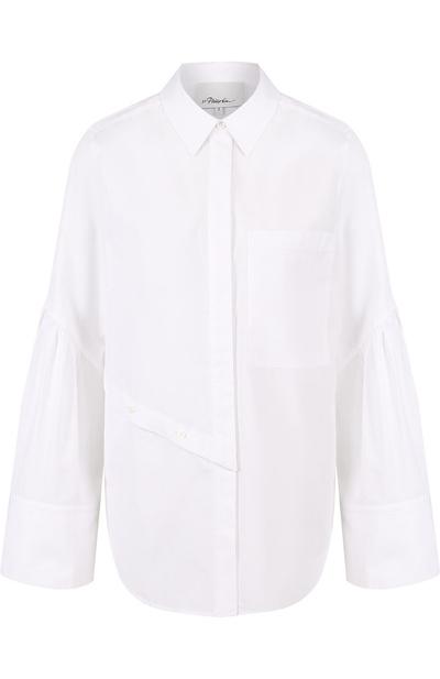 5 способов носить белую рубашку-оверсайз (галерея 20, фото 0)