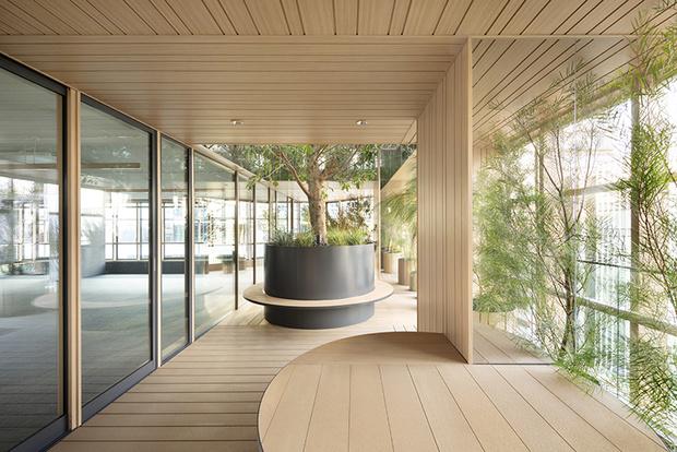 Nendo + Ikawaya Architects: офисное здание в Токио (фото 10)