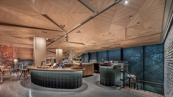 Starbucks Reserve Roastery по дизайну Кенго Кумы в Tokyo (фото 2)