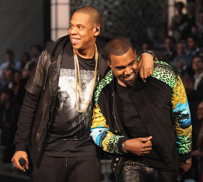 Jay-Z и Канье Уэст