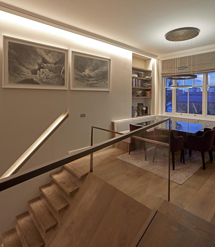 Лондонская квартира с деревянной лестницей от Deca Architecture (фото 4)