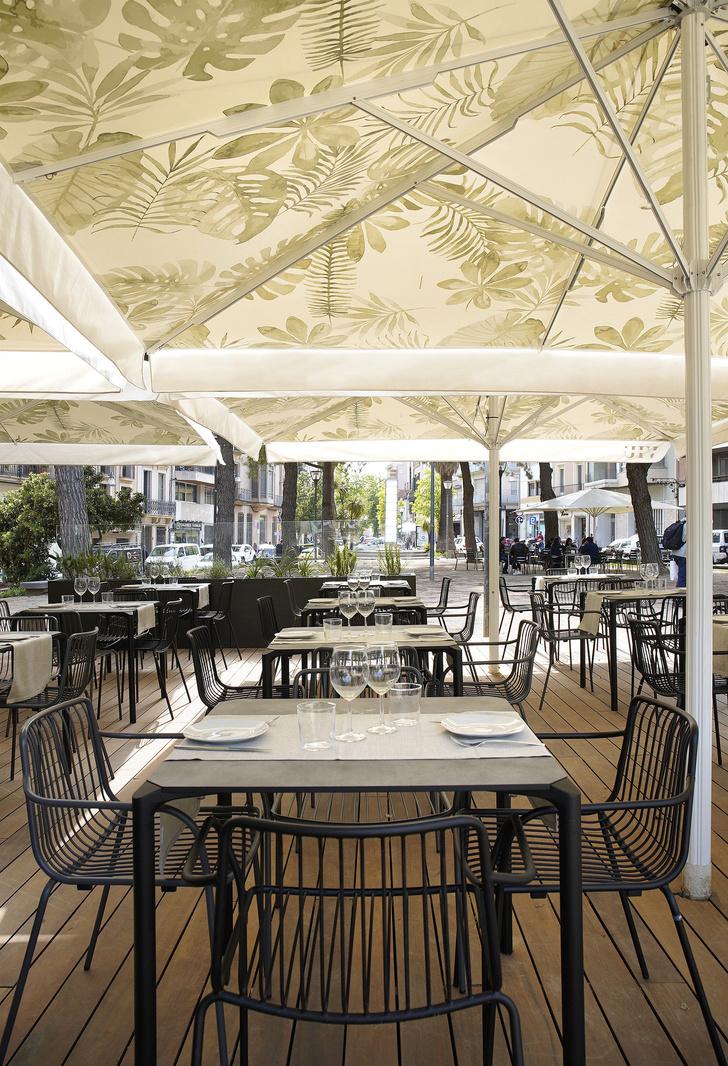 Дерево и зелень: ресторан Viu by Tapiñas под Барселоной (фото 11)
