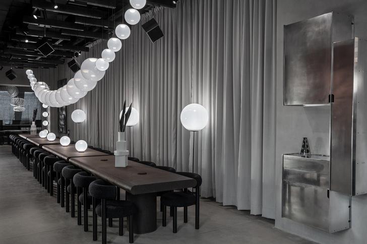 Эклектичный ресторан по проекту Тома Диксона (фото 2)