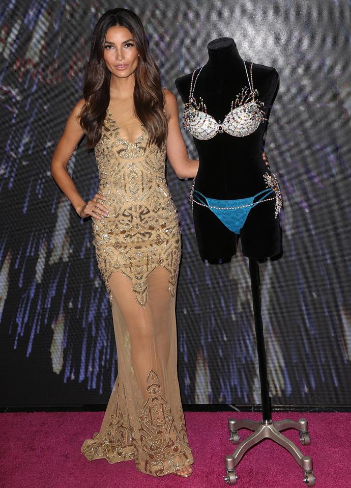 Лили Олдридж представит Fantasy Bra на показе Victoria's Secret 2015