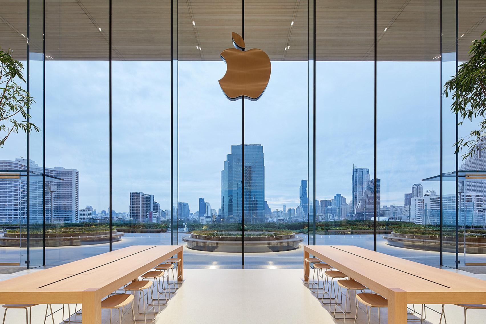 10 самых эффектных бутиков Apple (галерея 39, фото 0)