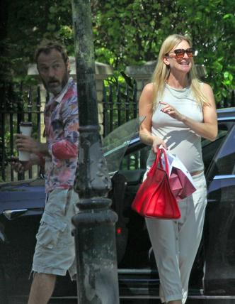 В ожидании чуда: Джуд Лоу и беременная Филиппа Коэн в Лондоне (фото 2.2)