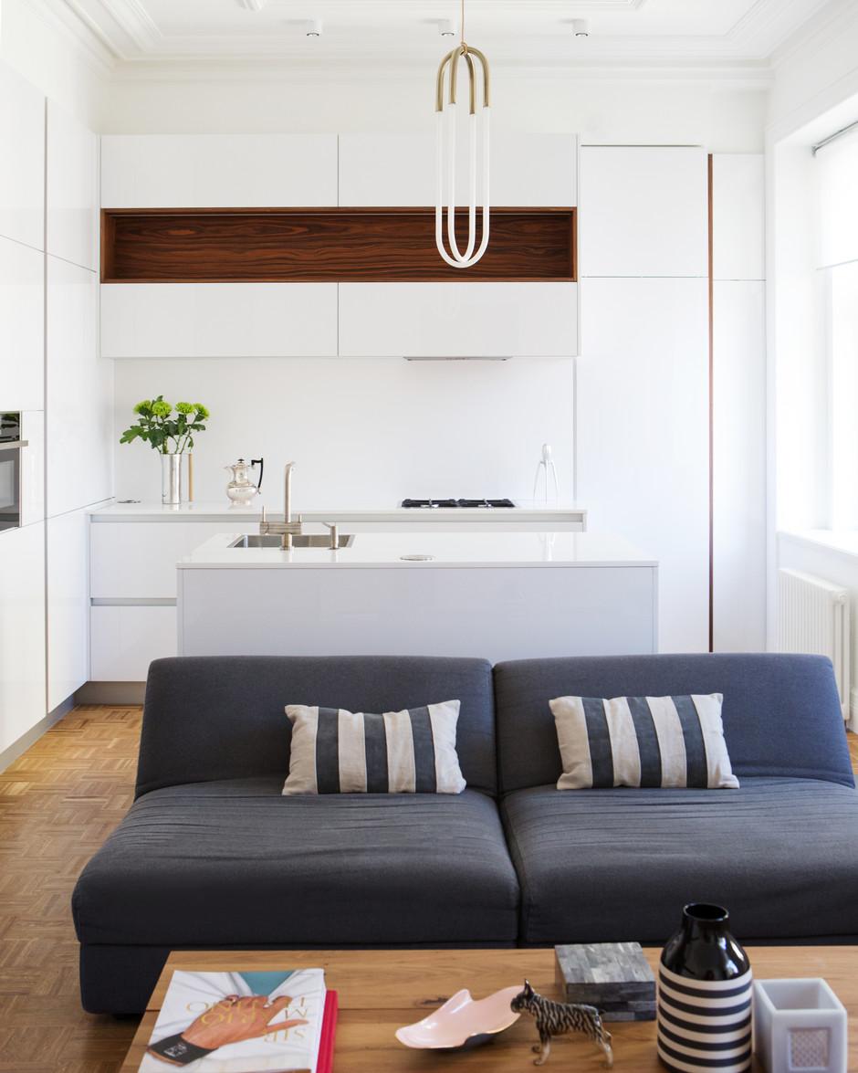 Дизайн кухни-гостиной: 25 решений (галерея 0, фото 1)