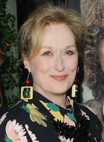Мерил Стрип: прическа и макияж