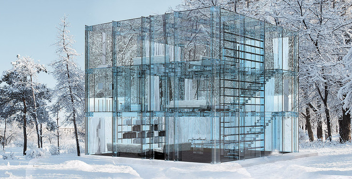 Мечтатели: самые невероятные постройки из стекла (фото 20)