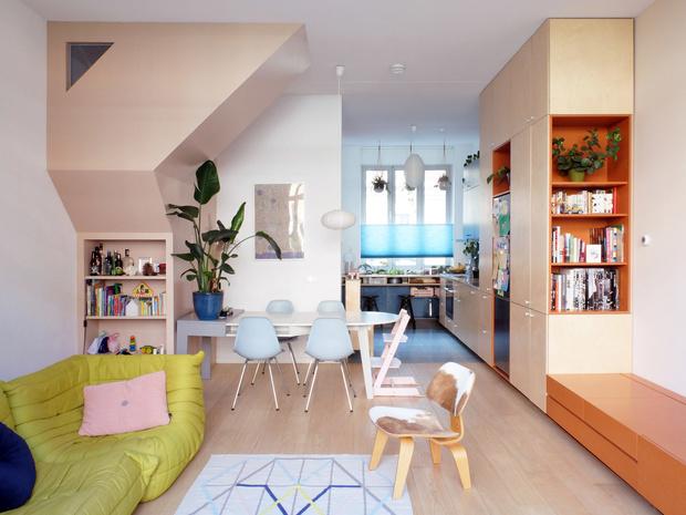 цветной дом в Роттердаме (фото 17)
